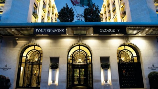Le George - New Restaurant at the iconic George V Hotel in Paris To Open In October