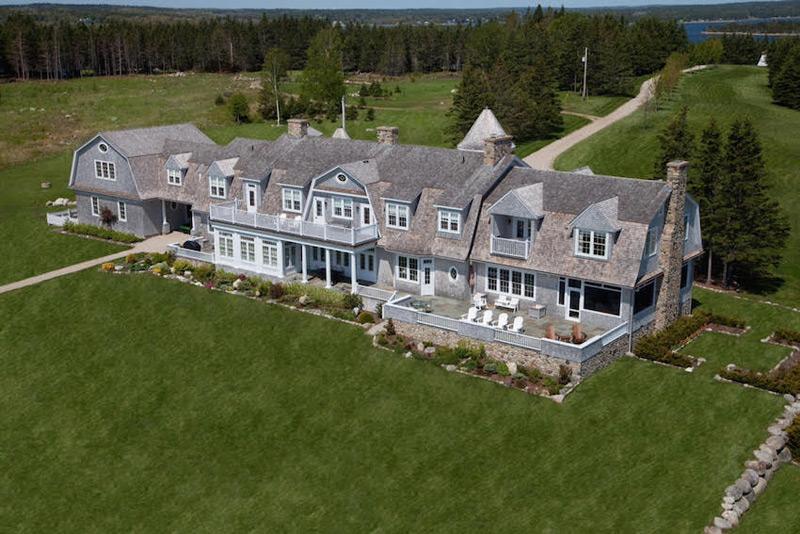 magnificent manor on nova scotia s private kaulbach island