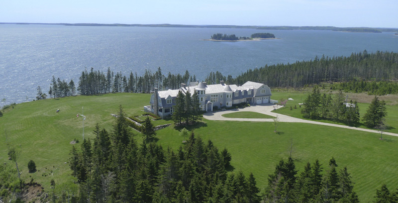 Magnificent Manor on Nova Scotia's Private Kaulbach Island On Sale For $6,95 Million