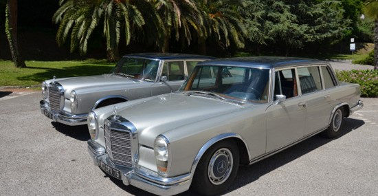 Two Maria Callas' Mercedes Limos At Auction