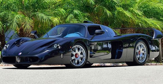 One And Only Black Maserati MC12 At Mecum Auction