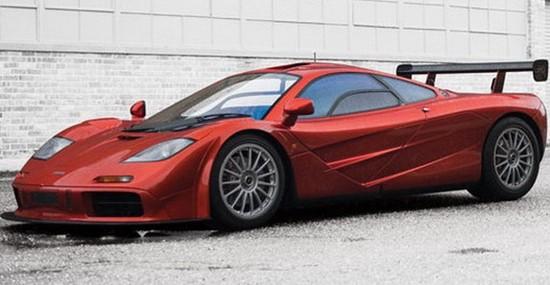 Rare McLaren F1 LM Goes Under the Hammer