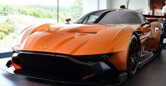 Special Orange Aston Martin Vulcan