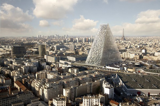 Paris to get new triangle-shaped glass skyscraper