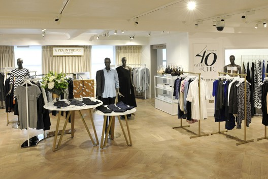 A Pea in the Pod Opens Shop at London's Harrods