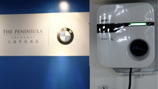 BMW i8 - New Member of Peninsula Shanghai's Collection of Cars