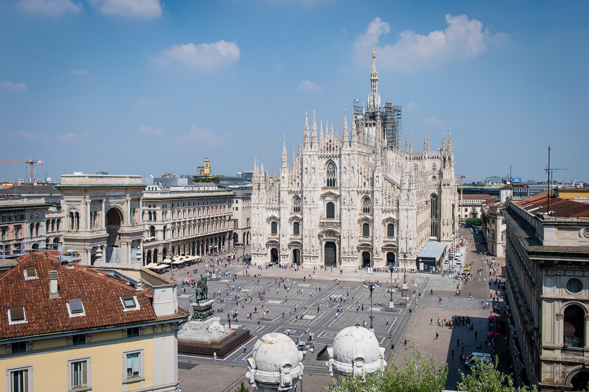 Historic Cathedral Square Penthouse In Milan Listed For €8 Million