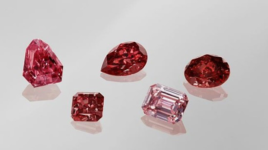 Rio Tinto puts 'vivid' pink and red diamonds on market
