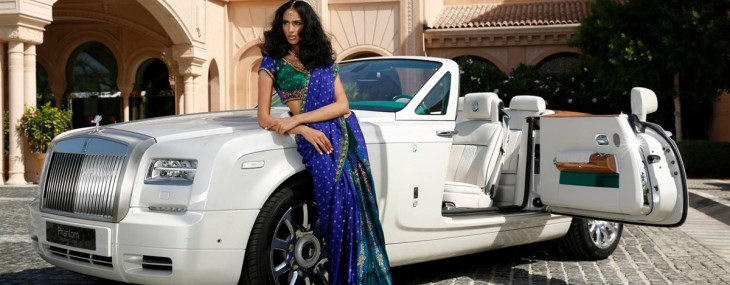 Rolls-Royce Phantom Maharaja Peacock Drophead Coupe Model
