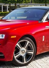 Red Rolls-Royce Wraith Inspired By Inspector Morse