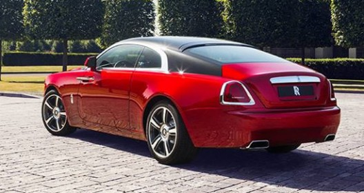 Rolls-Royce Wraith Inspired By Inspector Morse