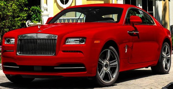 Special Rolls-Royce Wraith St. James Edition