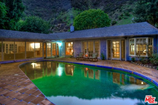 Salma Hayek's Hollywood Hills Villa
