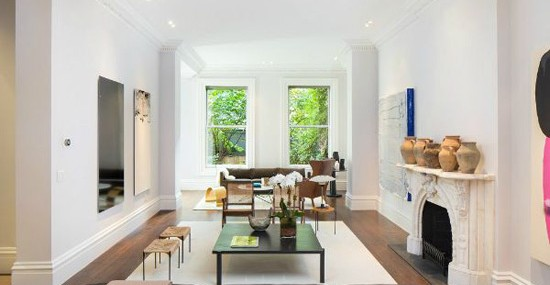 Sarah Jessica Parker Greenwich Village Townhouse