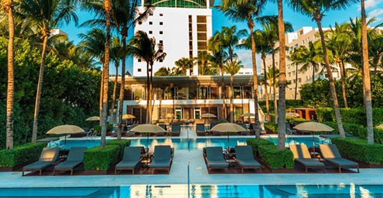 Unusual And Glamorous, The Setai Hotel In Miami
