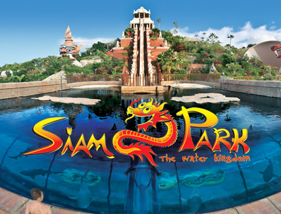 Siam Park, in Adeje, Tenerife, Spain