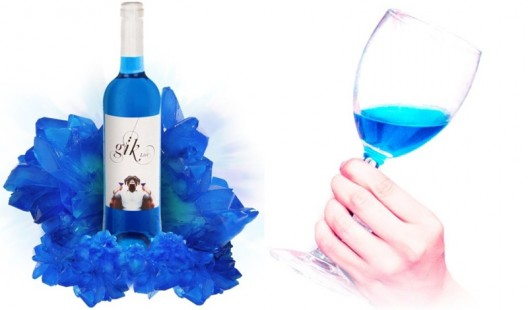 Spain's first BLUE wine GIK