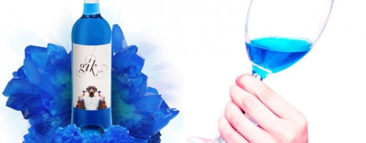 Gik – World's First Blue Wine Goes On Sale