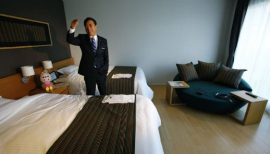 Hotel Where All Employees Are Robots