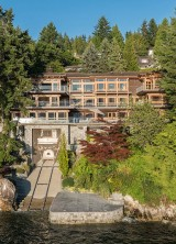 West Vancouver, B.C. Residence With Private Yacht Garage Listed For $23.8 Million