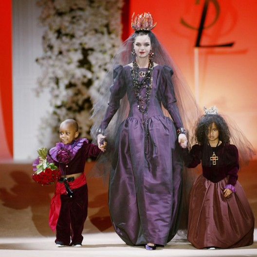 Comeback of Yves Saint Laurent Couture