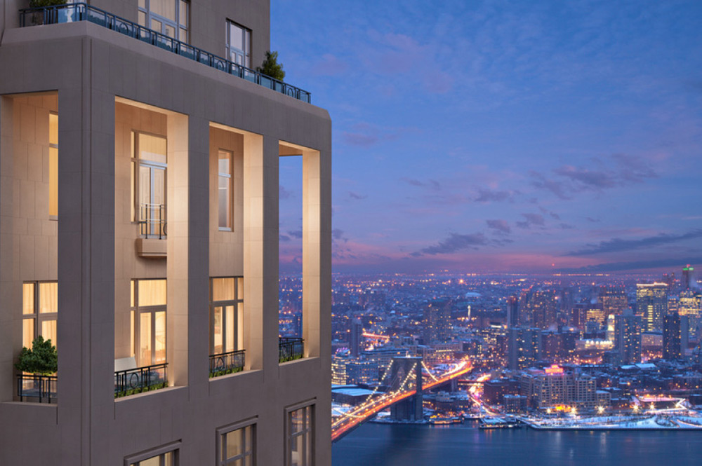 30 park place four seasons new york s 65 million for New york city penthouses central park