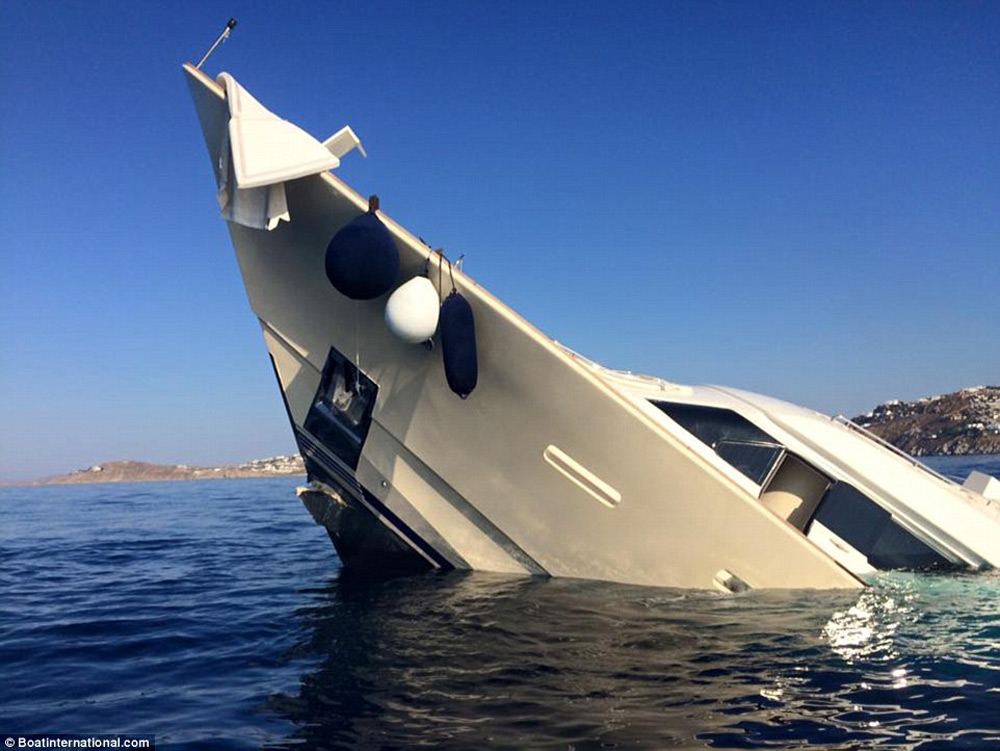 $6.2 Million Worth Yacht Disappeared in Just a Few Minutes