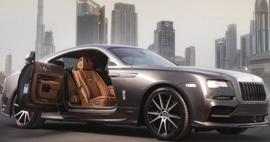 Ares Rolls-Royce Wraith