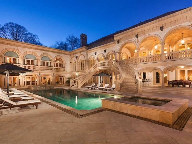 One of Atlanta's Most Regal Private Homes Can Be Yours For Just $15,9 Million