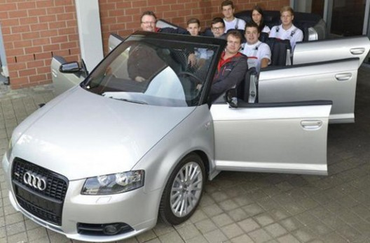 Audi A3 Convertible With Eight Seats