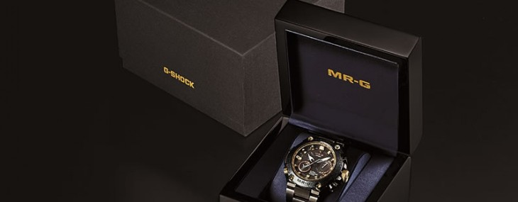 Casio Debuts A Basel Special Limited Edition MR-G Timepiece