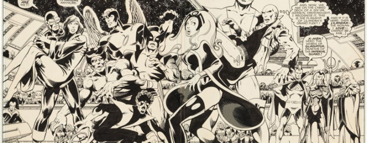 Classic X-Men Original Art Provides Rarity, Drama At Heritage Auctions