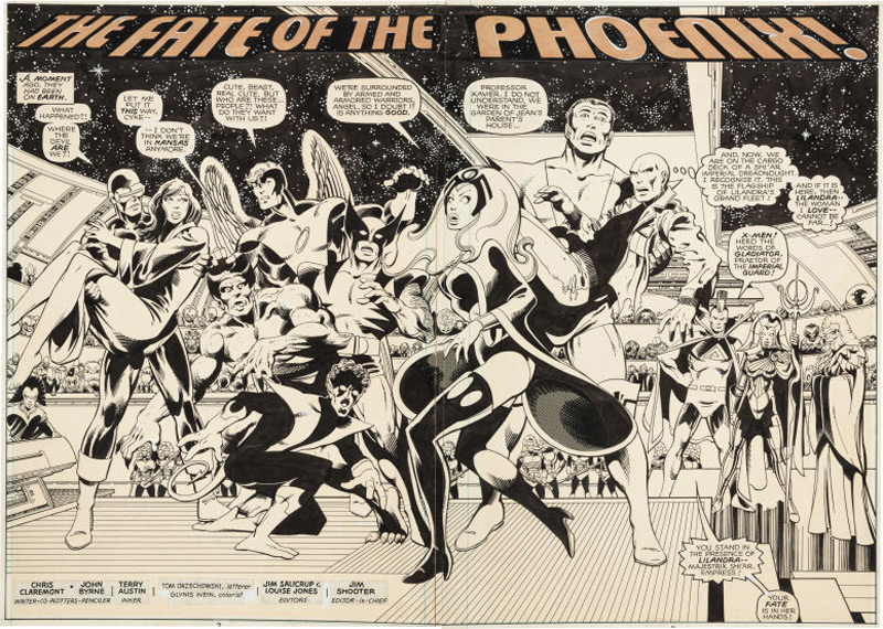 Classic X-Men Original Art Provides Rarity, Drama At Heritage Auctions