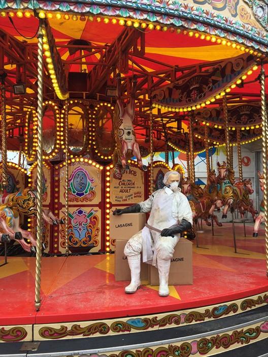 Dismaland - New Disneyland Parody in Somerset, England