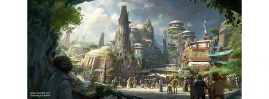 Star Wars Themed Park Coming To Disney's World