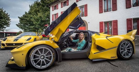 Benjamin Sloss Surprises His Wife With Ferrari FXX K