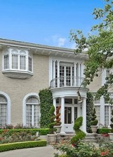 Fontainebleau Mansion With Gold Leaf Ceiling On Sale For $1.1 Million