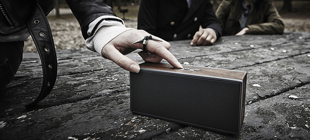 Grain Audio's PWS - Portable Wood Crafted Bluetooth Speaker