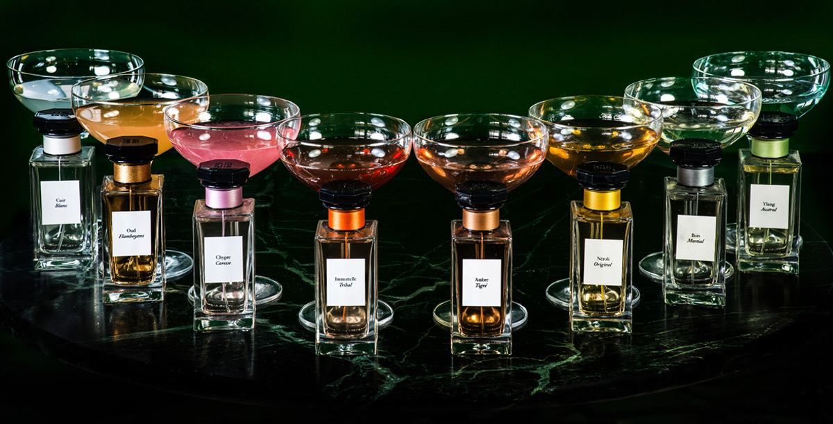 Immortelle Tribal - Givenchy's New Perfume-inspired Cocktail at London's Cafe Royal Hotel's Menu