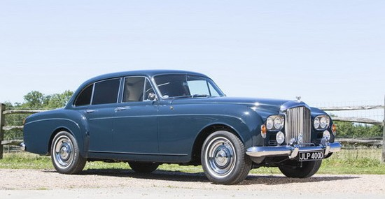 "Keith Richards' Bentley ""Blue Lena"" At Bonhams Auction"