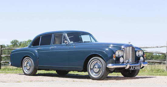 "Keith Richards' Bentley ""Blue Lena"""
