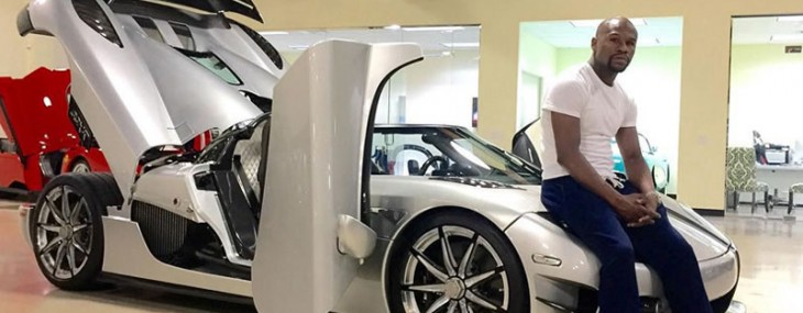 Floyd Mayweather Splashed Out $4.8 Million On Koenigsegg CCXR Trevita Supercar