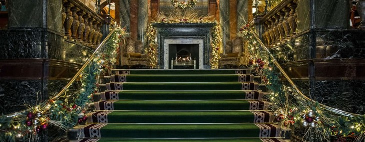 Mandarin Oriental Hyde Park London Teamed Up With Harrods For Christmas Package