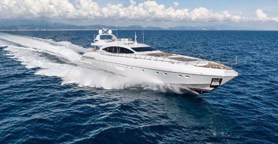 New Mangusta 132 Yacht by Overmarine Shipyard