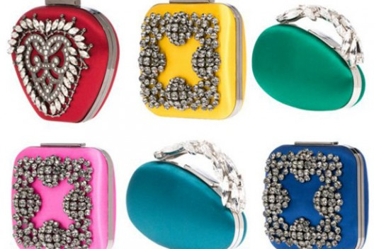 Manolo Blahnik's First Collection Of Clutches And Handbags