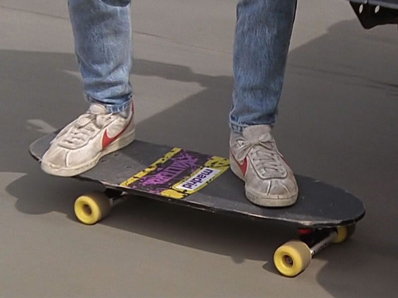 30th Anniversary Final Limited Edition Marty McFly Valterra/Madrid Skateboard