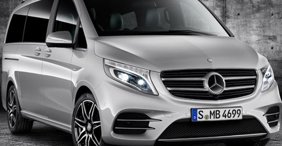 Luxury Mercedes V-Class AMG Line Package Edition