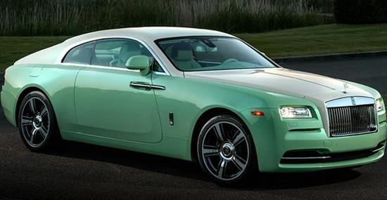 Special Rolls-Royce Wraith Jade Pearl