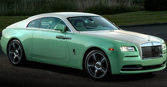 Rolls-Royce Wraith Jade Pearl