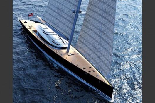 A 50-Meter Luxury Sailboat Called Sloop